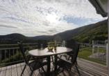 Beispiel für einen Balkon in der Villa Chiemsee Komfort.