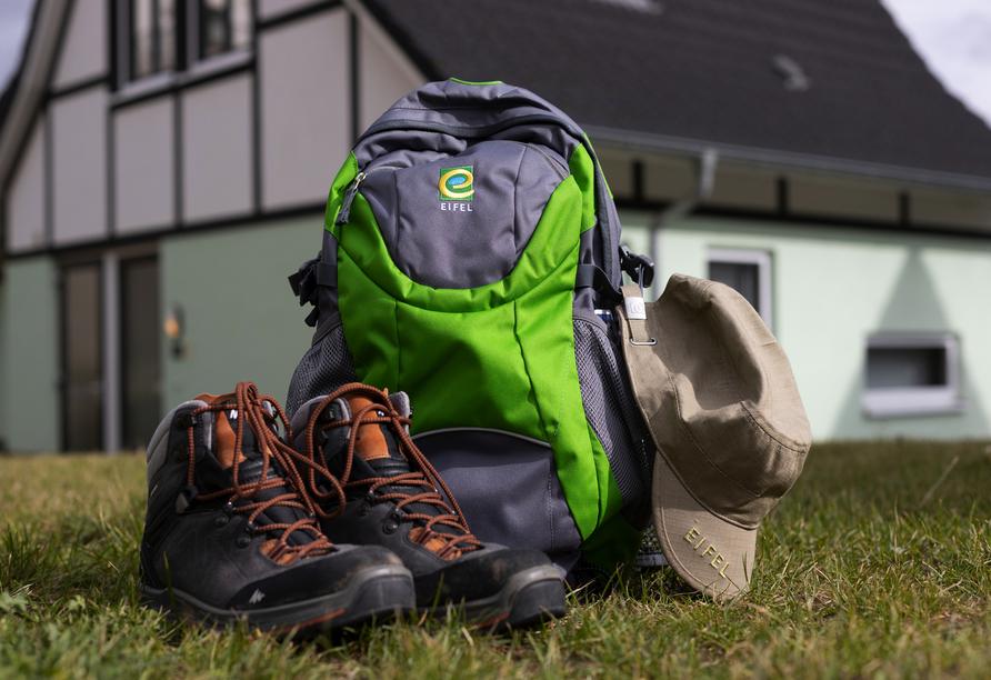 Schnüren Sie die Wanderschuhe und gehen Sie auf Erkundungstour im Nationalpark Eifel.