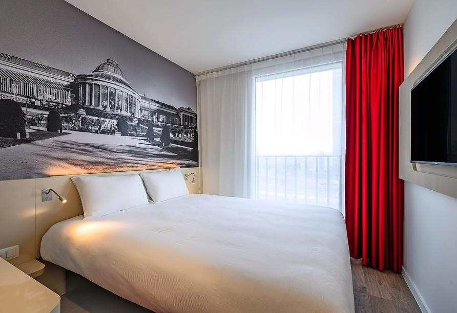 B&B Hotel Brussels Centre Gare du Midi, Beispiel Doppelzimmer B&B Hotel Brussels Centre Gare du Midi