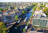 Die eindrucksvolle holländische Metropole wird Sie begeistern.
