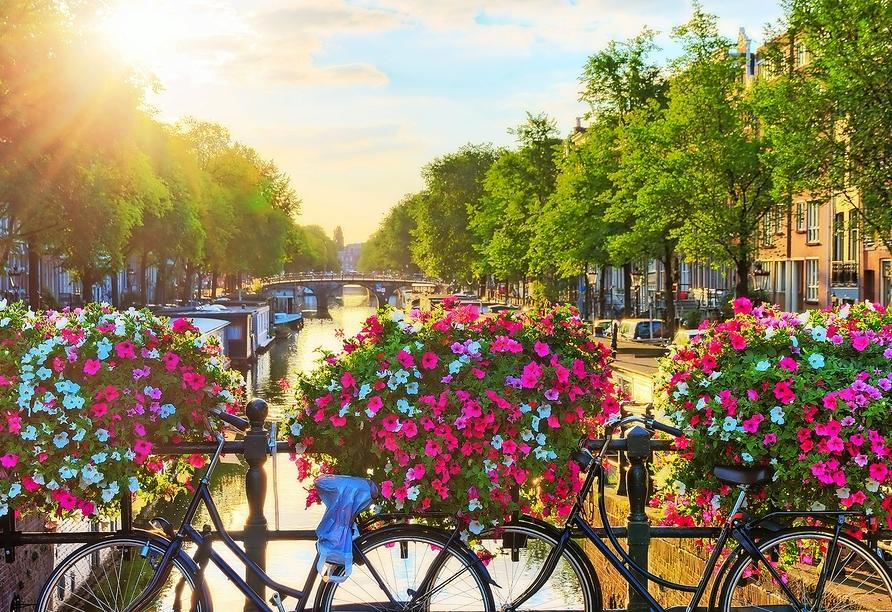 Freuen Sie sich auf einen unvergesslichen Urlaub in Amsterdam!