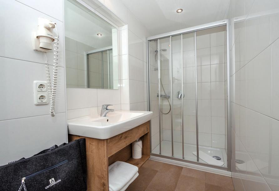 Beispiel für ein Badezimmer.