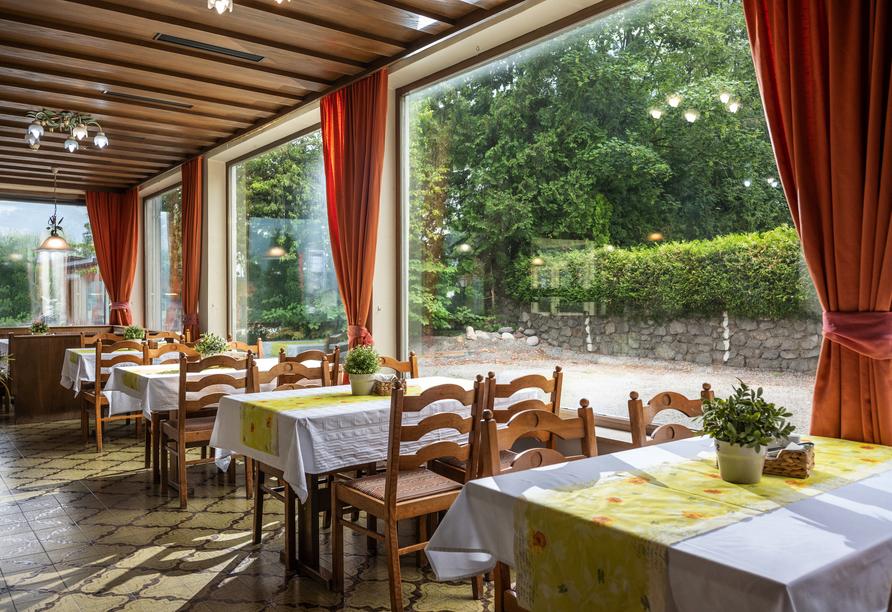 Alpenhotel Edelweiss in Maurach, Österreich, Restaurant