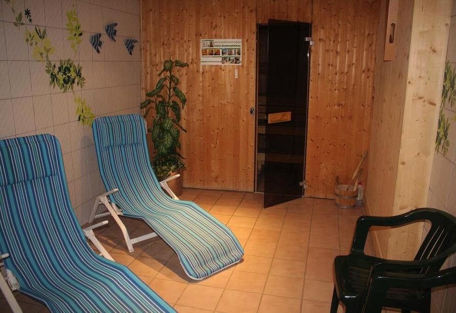 Alpenhotel Edelweiss in Maurach, Österreich, Ruheraum