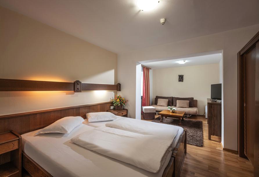 Alpenhotel Edelweiss in Maurach, Österreich, Zimmerbeispiel