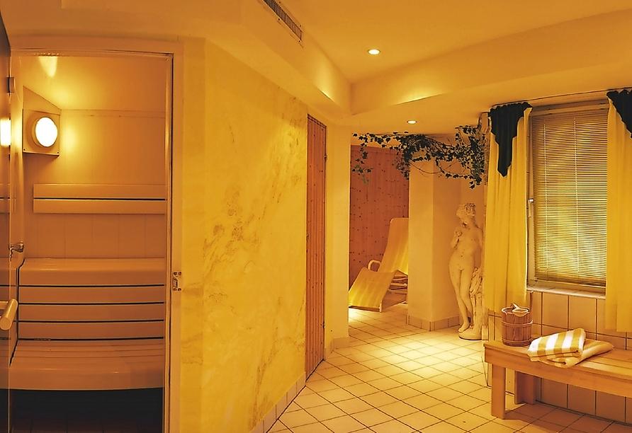 Hotel Habhof in Mösern bei Seefeld in Tirol, Sauna
