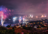 Rocamar Lido Resorts in Caniço, Feuerwerk