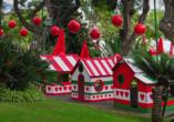 Rocamar Lido Resorts in Caniço, Weihnachtshäuser