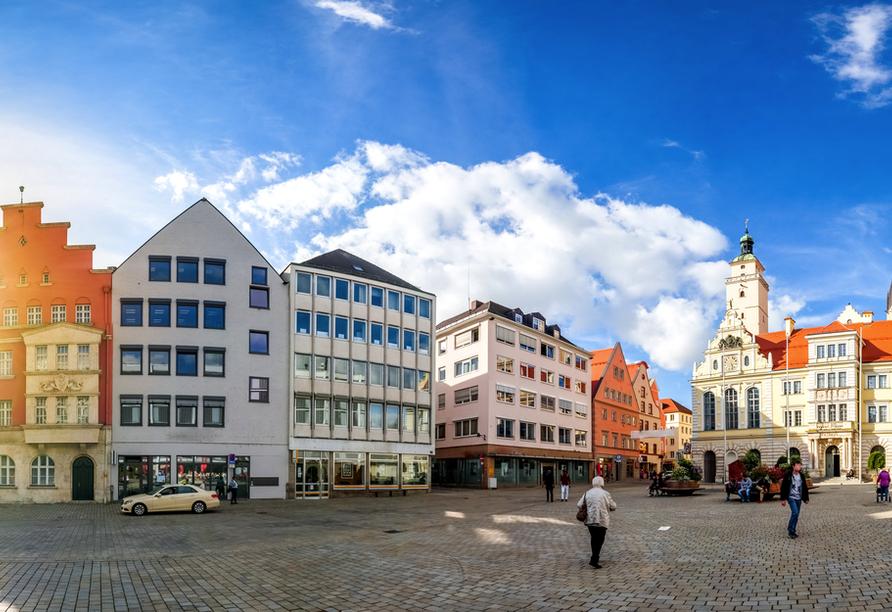 Das schöne Ingolstadt lädt Sie zu einer unvergesslichen Reise ein.