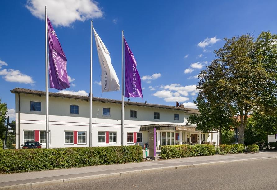 Herzlich willkommen im Mercure Hotel Ingolstadt!