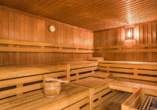 Erholen Sie Körper und Geist in der Sauna.
