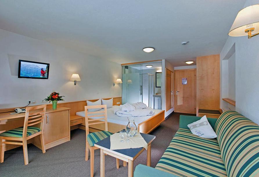 Hotel Auderer in Imst in Tirol Österreich, Doppelzimmer