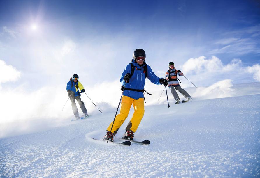 Hotel Auderer in Imst in Tirol, Wintersport