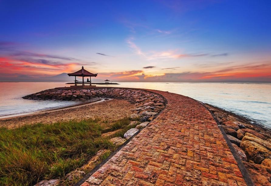 Artotel in Sanur, Strand Karang in Sanur