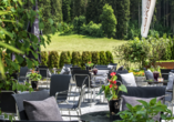 Hotel Taxacher in Kirchberg, Tirol, Österreich, Terrasse