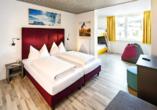 Hotel Basekamp Katschberg, Beispiel Vierbettzimmer