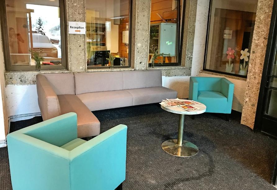 Hotel Basekamp Katschberg, Sitzbereich