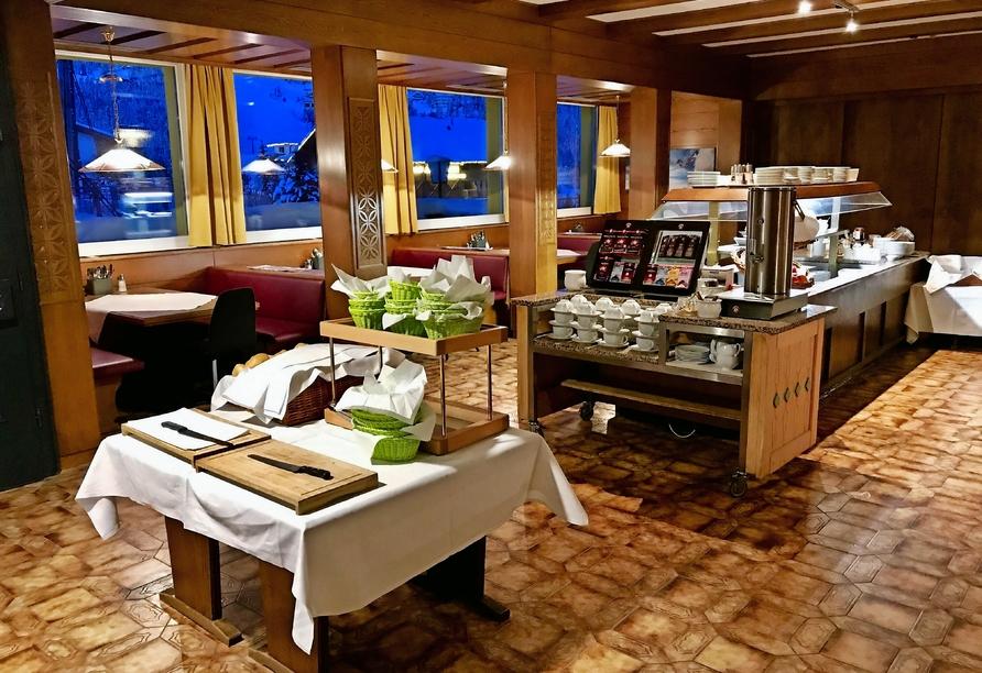 Hotel Basekamp Katschberg, Essbereich
