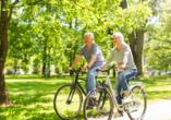 Zum Radfahren ist der Altmühltal-Radweg bestens geeignet.