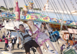 Besuchen Sie das größte Volksfest der Welt, das Oktoberfest.