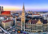 Panorama der Münchener Innenstadt