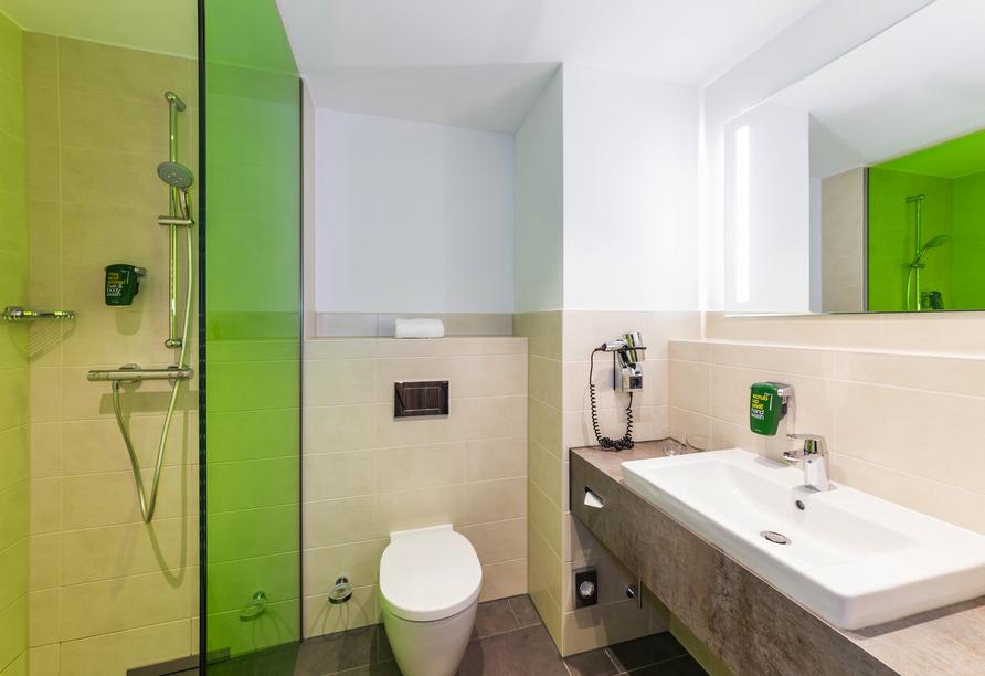Beispiel Badezimmer im Park Inn by Radisson Neumarkt