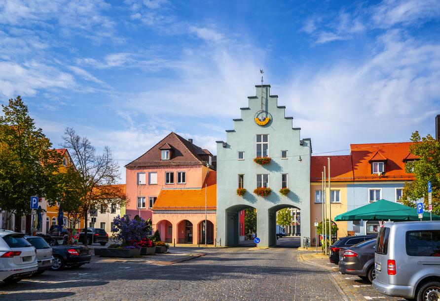 Die Schönheit von Neumarkt in der Oberpfalz wird Sie begeistern.