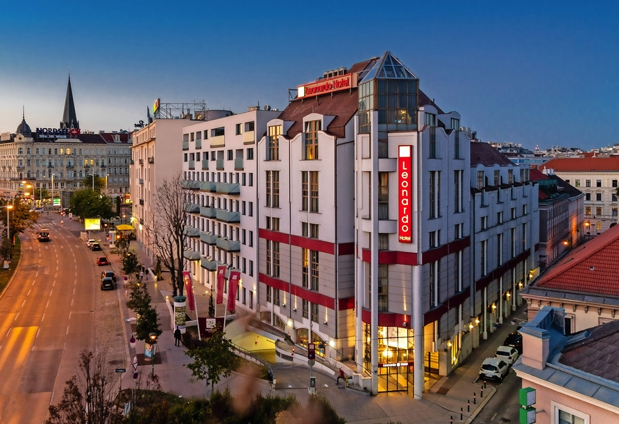 Leonardo Hotel Vienna, Außenansicht