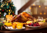 Freuen Sie sich auf leckeres Weihnachtessen während Ihrem Urlaub.