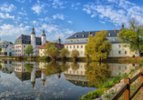 Besuchen Sie Schloss Blankenhain in der Nähe von Crimmitschau.