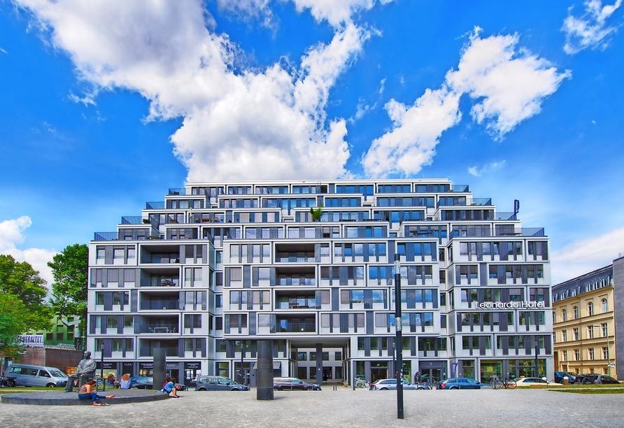 Leonardo Hotel Berlin Mitte, Außenansicht