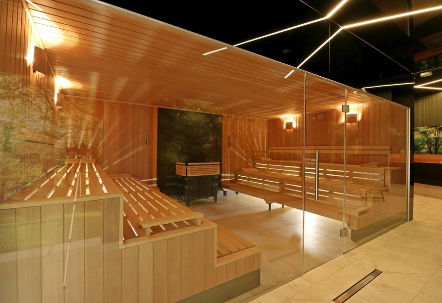 Hotel Hamilton in Swinemünde, Polen, Sauna