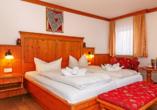 Beispiel eines Doppelzimmers Haupthaus im Hotel Rupertihof in Ainring