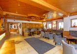 Eingangsbereich im Hotel Rupertihof in Ainring