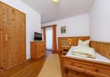 Beispiel eines Einzelzimmers Nebenhaus im Hotel Rupertihof in Ainring