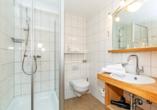 Beispiel eines Badezimmers im Hotel Rupertihof in Ainring