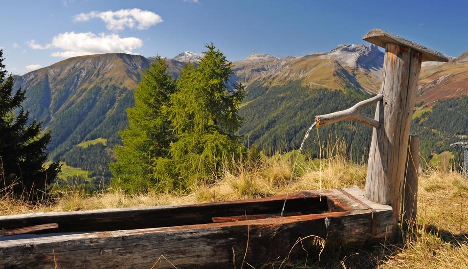 Parsenn Resort Davos Schweiz, Landschaft Davos