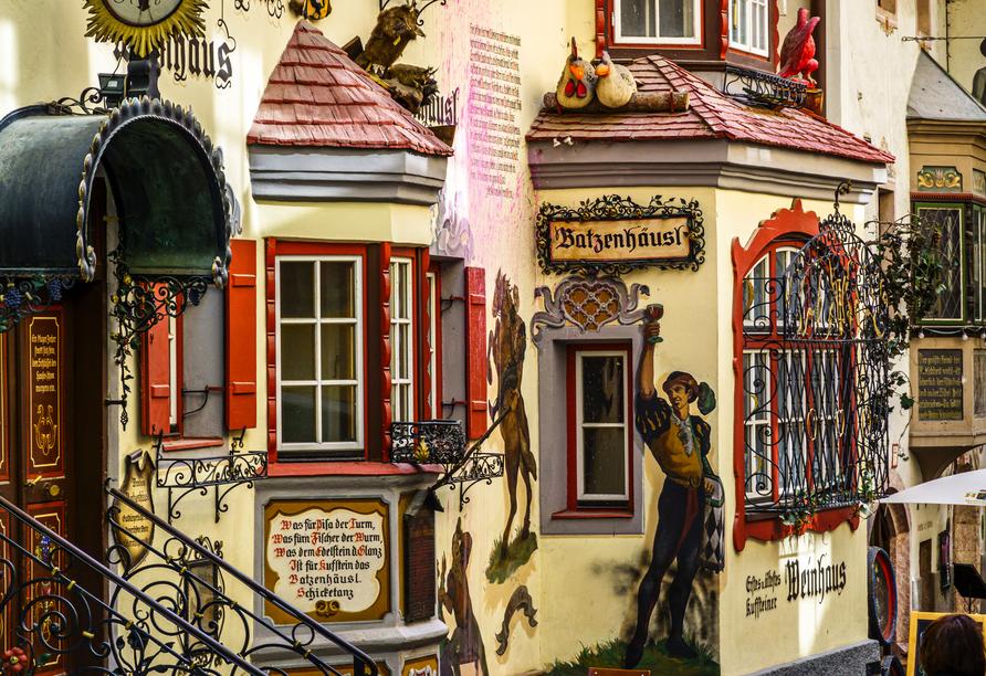 Die Altstadt von Kufstein ist eine wahre Augenweide!