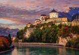 Statten Sie der Festung in Kufstein enen Besuch ab.