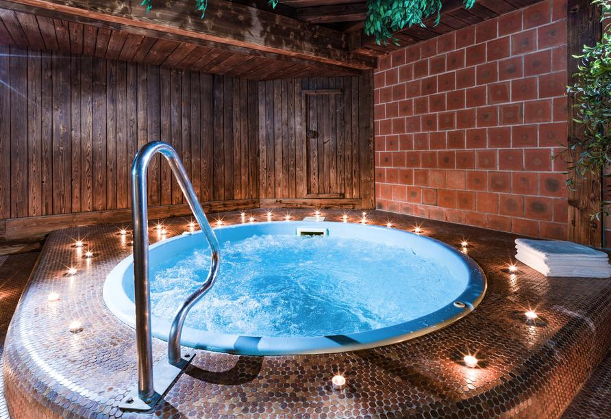 Ein Bad im Whirpool wirkt Wunder!