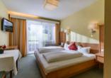 Zimmerbeispiel eines Doppelzimmers Komfort