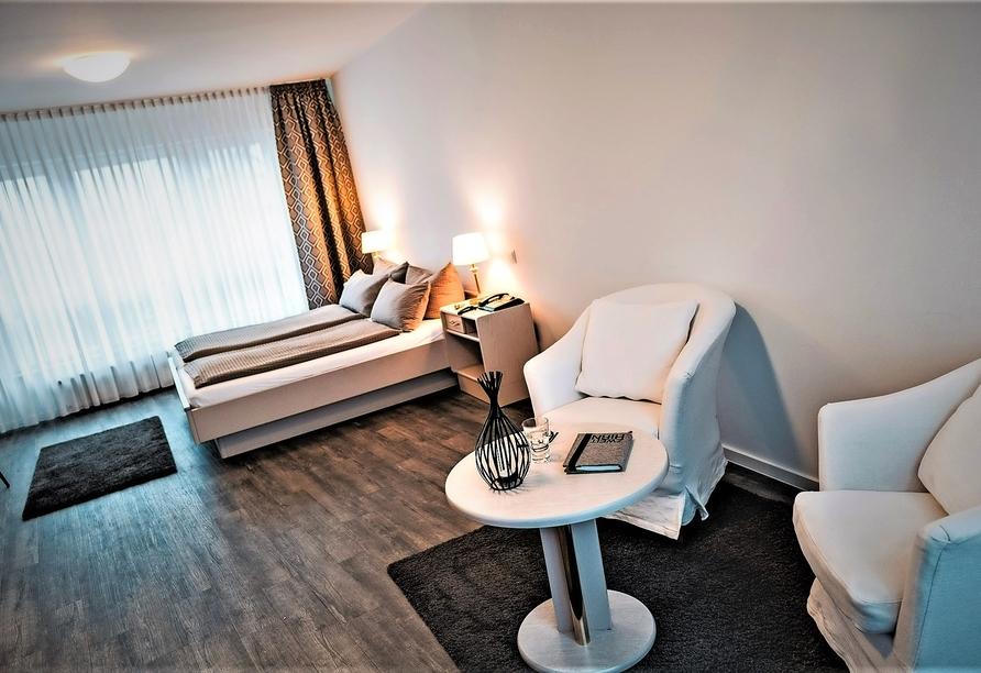 Beispiel eines Doppelzimmers im Hotel Zur Post Bonn-Beuel