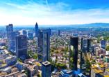 Die Großstadt Frankfurt bietet eine große Bandbreite an Unternehmungsmöglichkeiten.