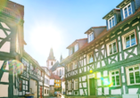 Die liebevoll restaurierte Altstadt Oberursels fügt sich wundervoll ins Gesamtbild der Kleinstadt ein.