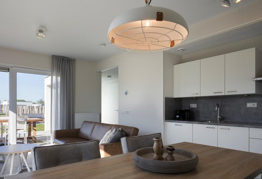 Roompot Beach Resort Nieuwvliet-Bad, Küche
