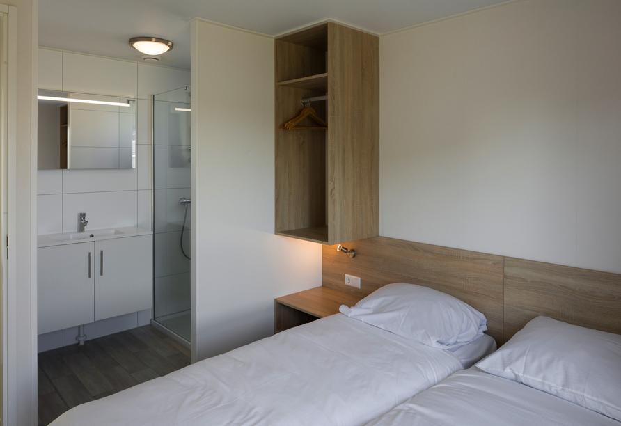 Roompot Beach Resort Nieuwvliet-Bad, Schlafzimmer