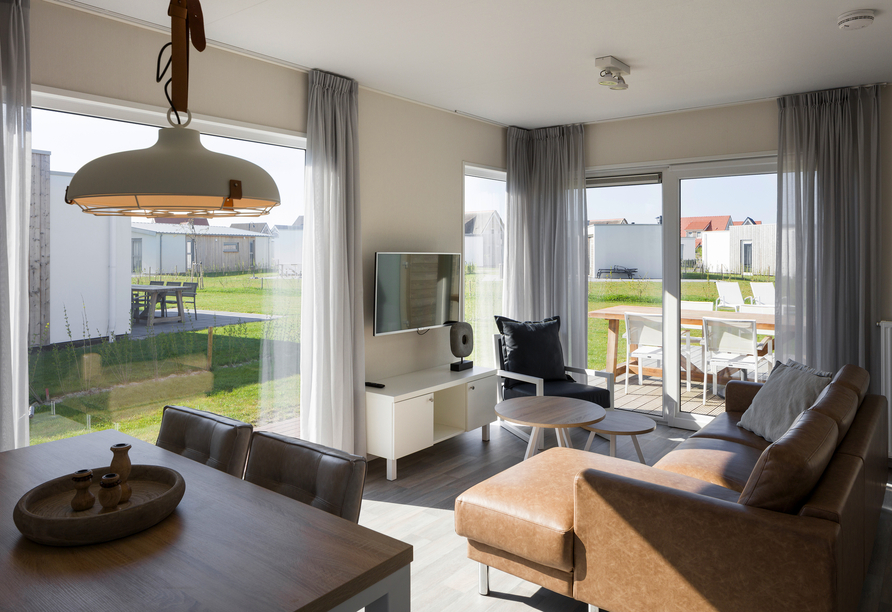 Roompot Beach Resort Nieuwvliet-Bad, Wohnzimmer