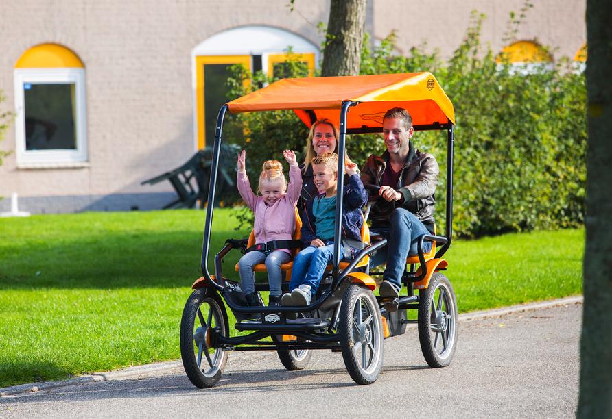Roompot De Soeten Haert in Noordwelle, Niederlande, Familienurlaub