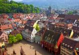 Freiburg im Breisgau ist einen Ausflug wert.