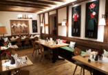 Sie dürfen sich im Restaurant des Hotels auf schmackhafte Schwarzwälder Gaumenfreuden freuen.
